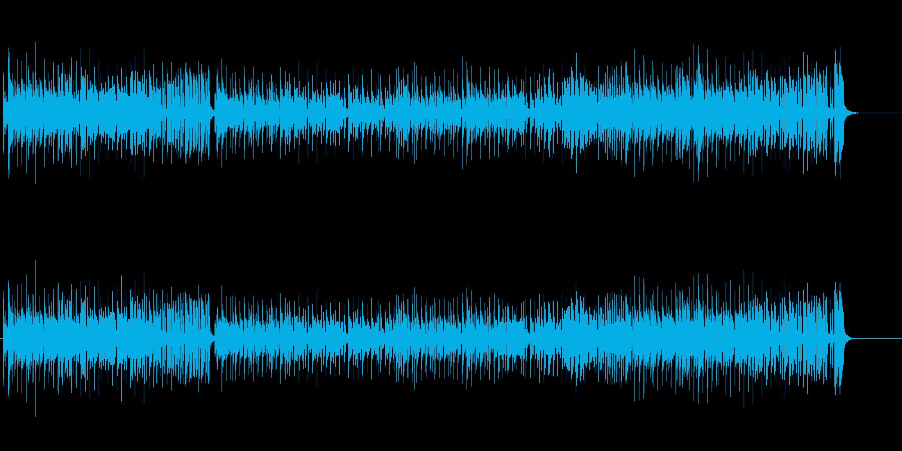 曲の流れに抑揚をつけたポップ・チューンの再生済みの波形