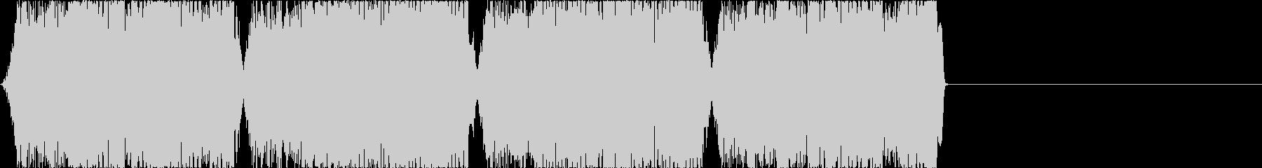 ブザー音1の未再生の波形