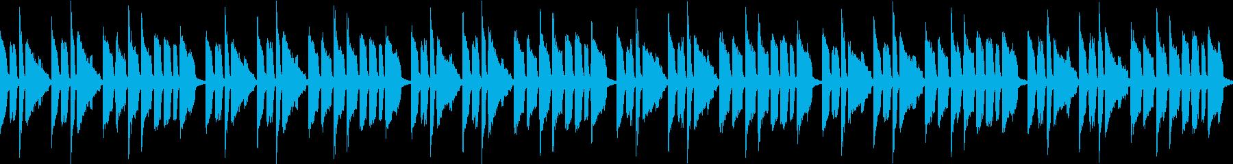 絵を描いているみたいな曲(ループ仕様)の再生済みの波形