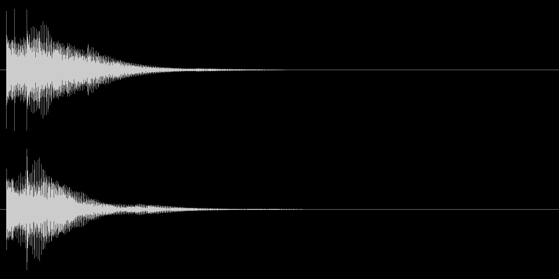 トゥルリンーの未再生の波形