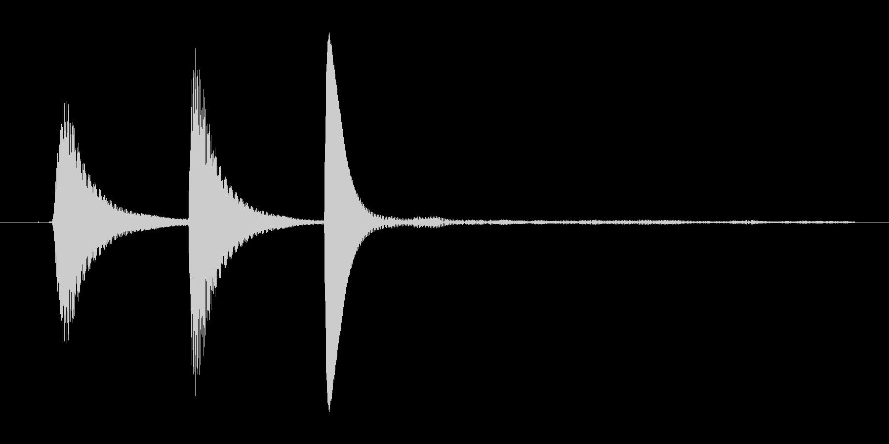 ポップアップ_決定音系_02の未再生の波形