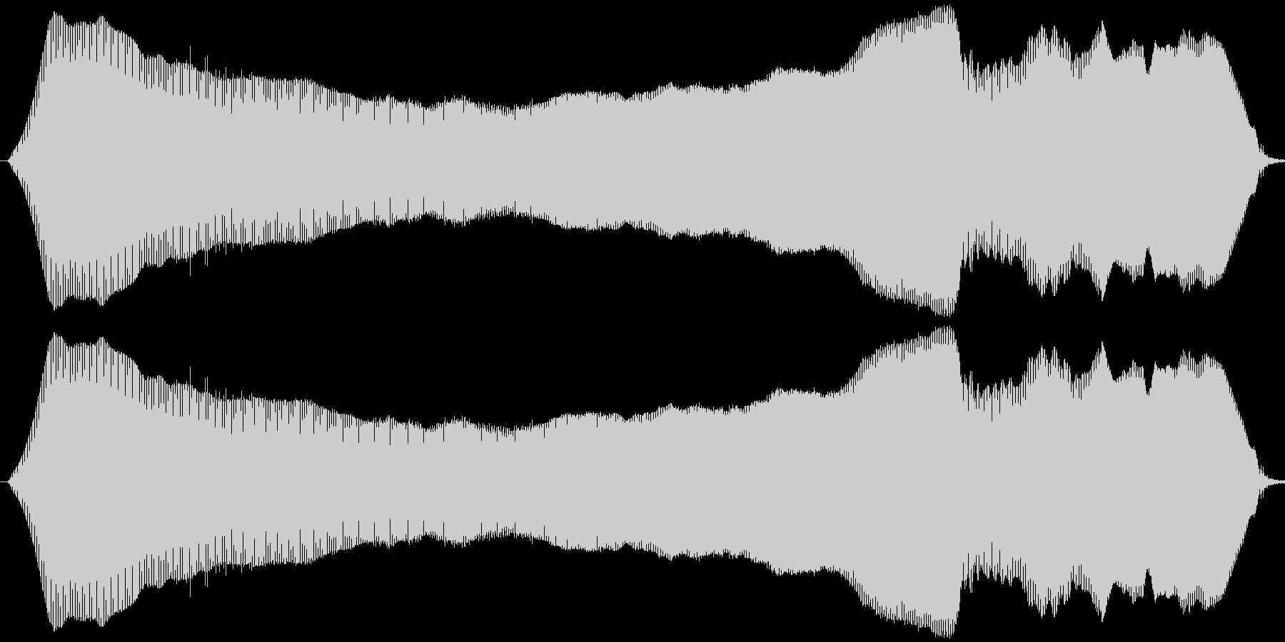 猫の鳴き声(ニャウ~ン)の未再生の波形