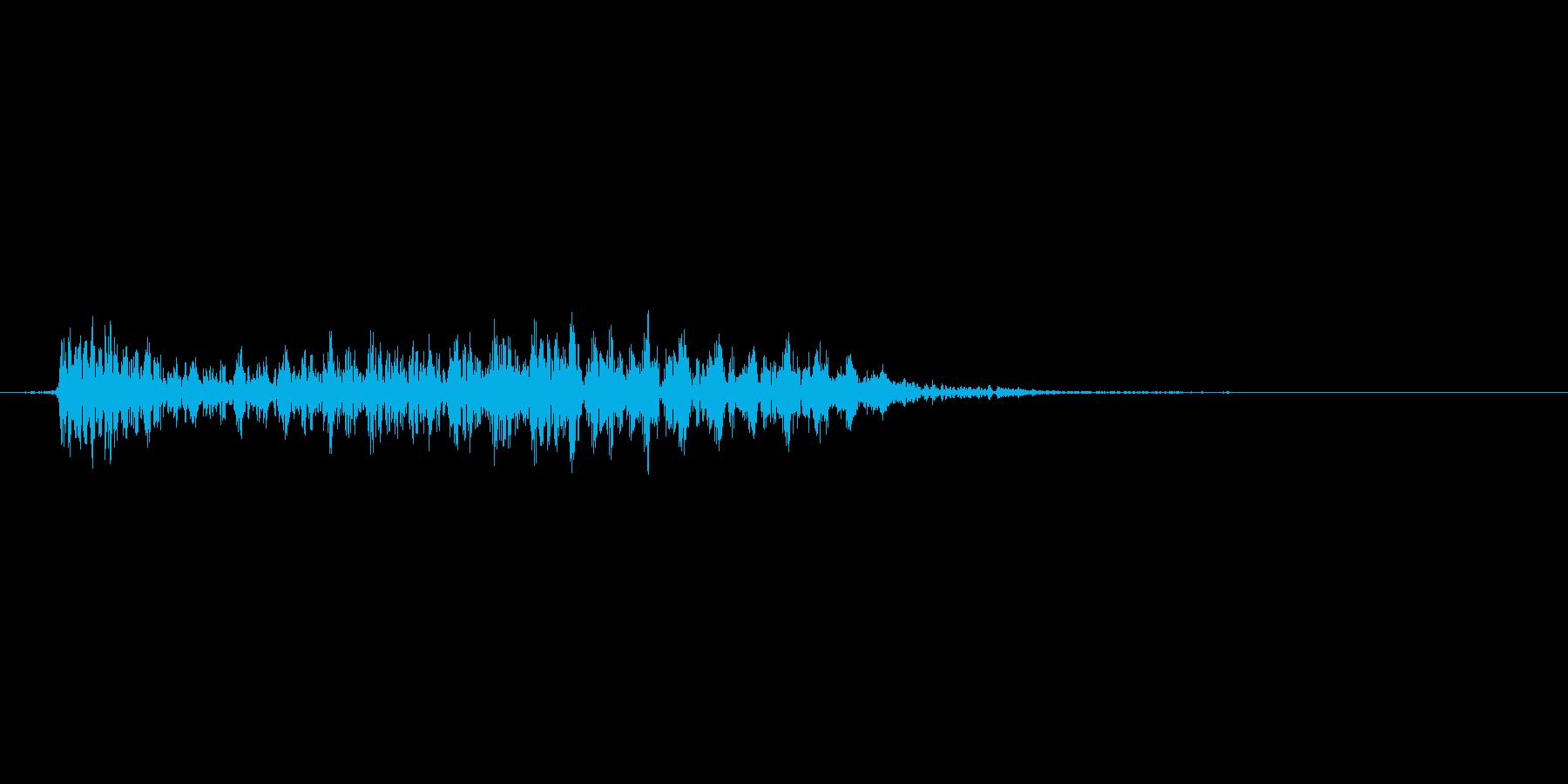 パワーアップのときの音。ぴよーん。の再生済みの波形