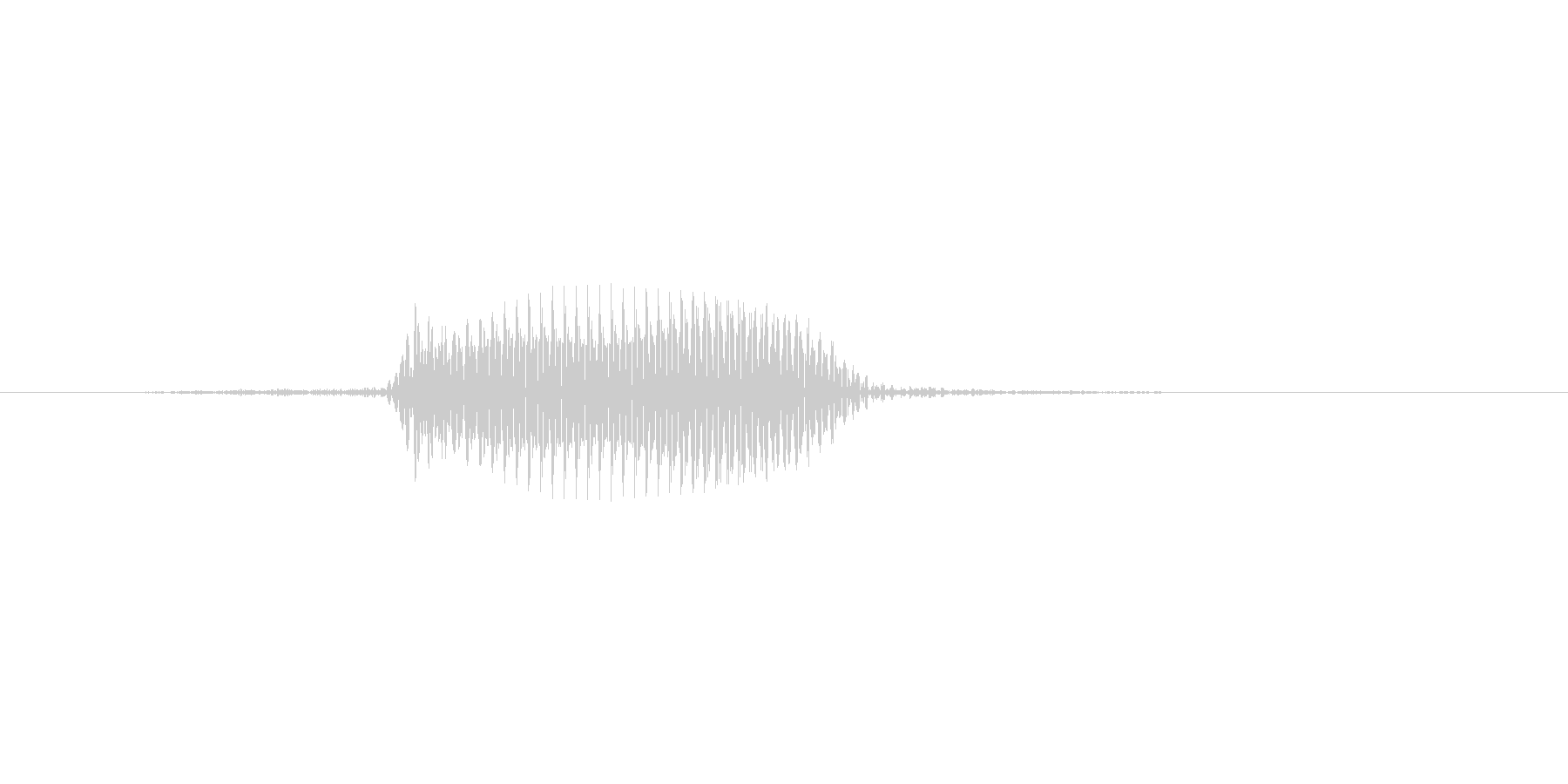 ふっ(ジャンプ、回避)の未再生の波形