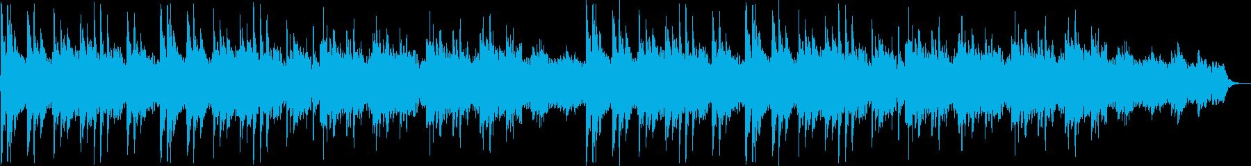 しっとりしたピアノシンセサイザーサウンドの再生済みの波形