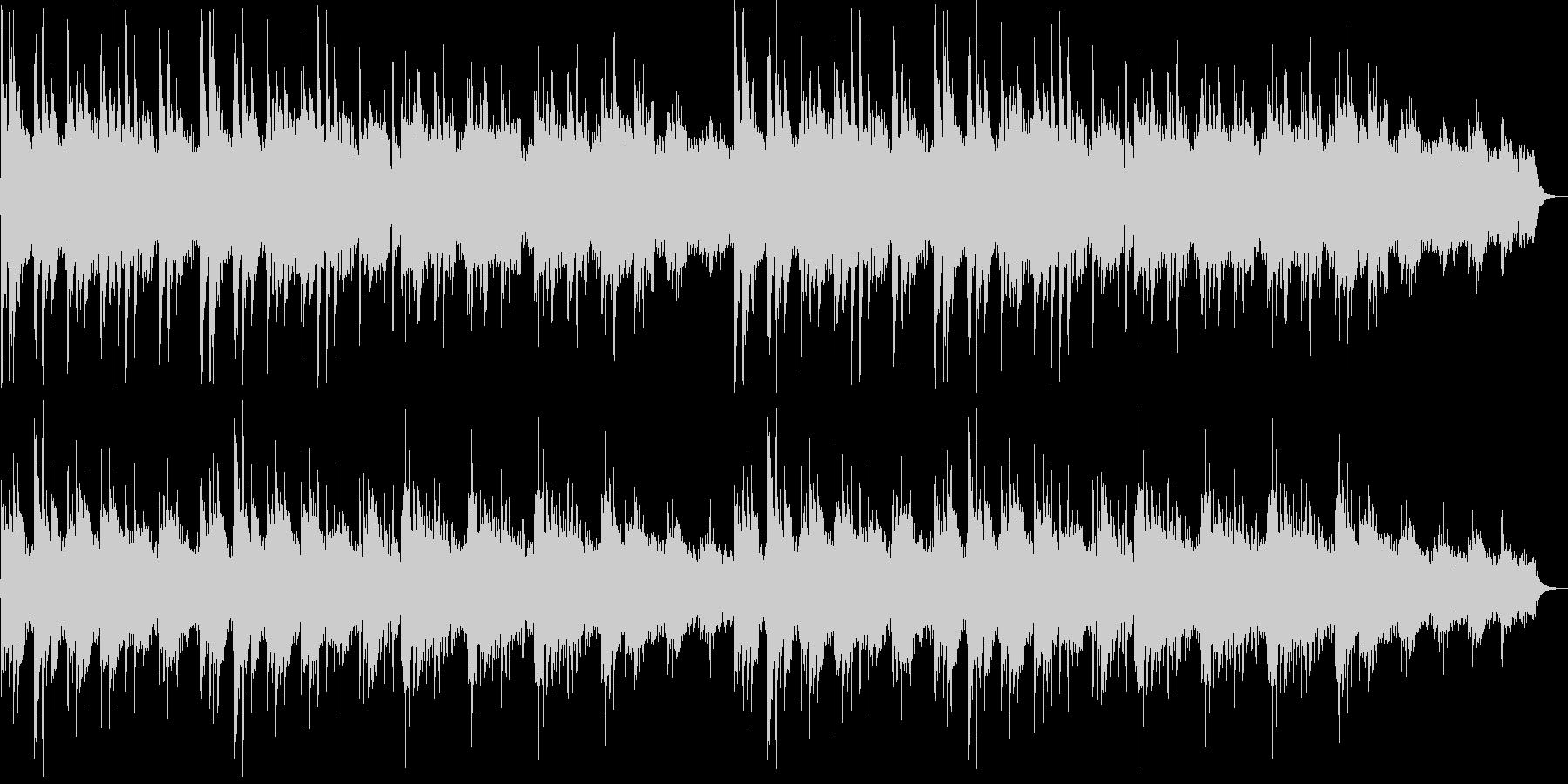 しっとりしたピアノシンセサイザーサウンドの未再生の波形
