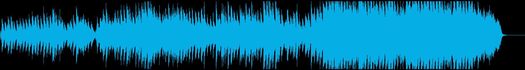 ピアノとストリングスの切ない曲の再生済みの波形