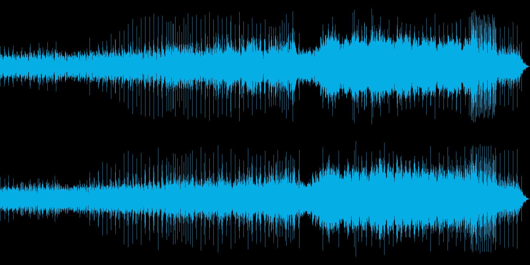 クールなインダストリアルですの再生済みの波形