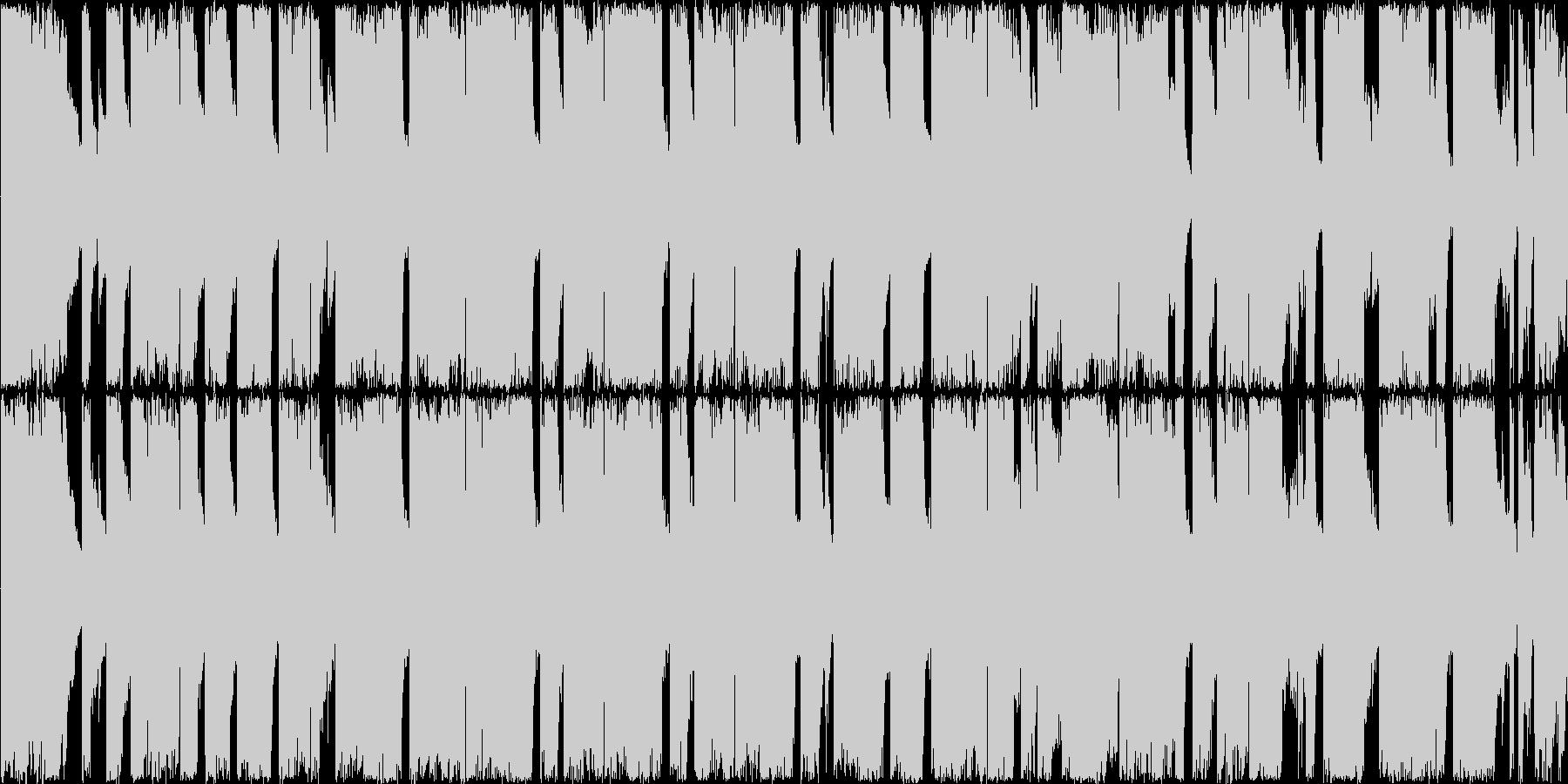 【ダークな雰囲気、ロックエレキギター】の未再生の波形