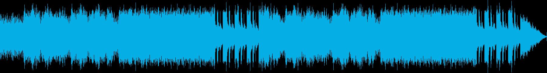 ファンタジーRPGのダンジョンをイメー…の再生済みの波形