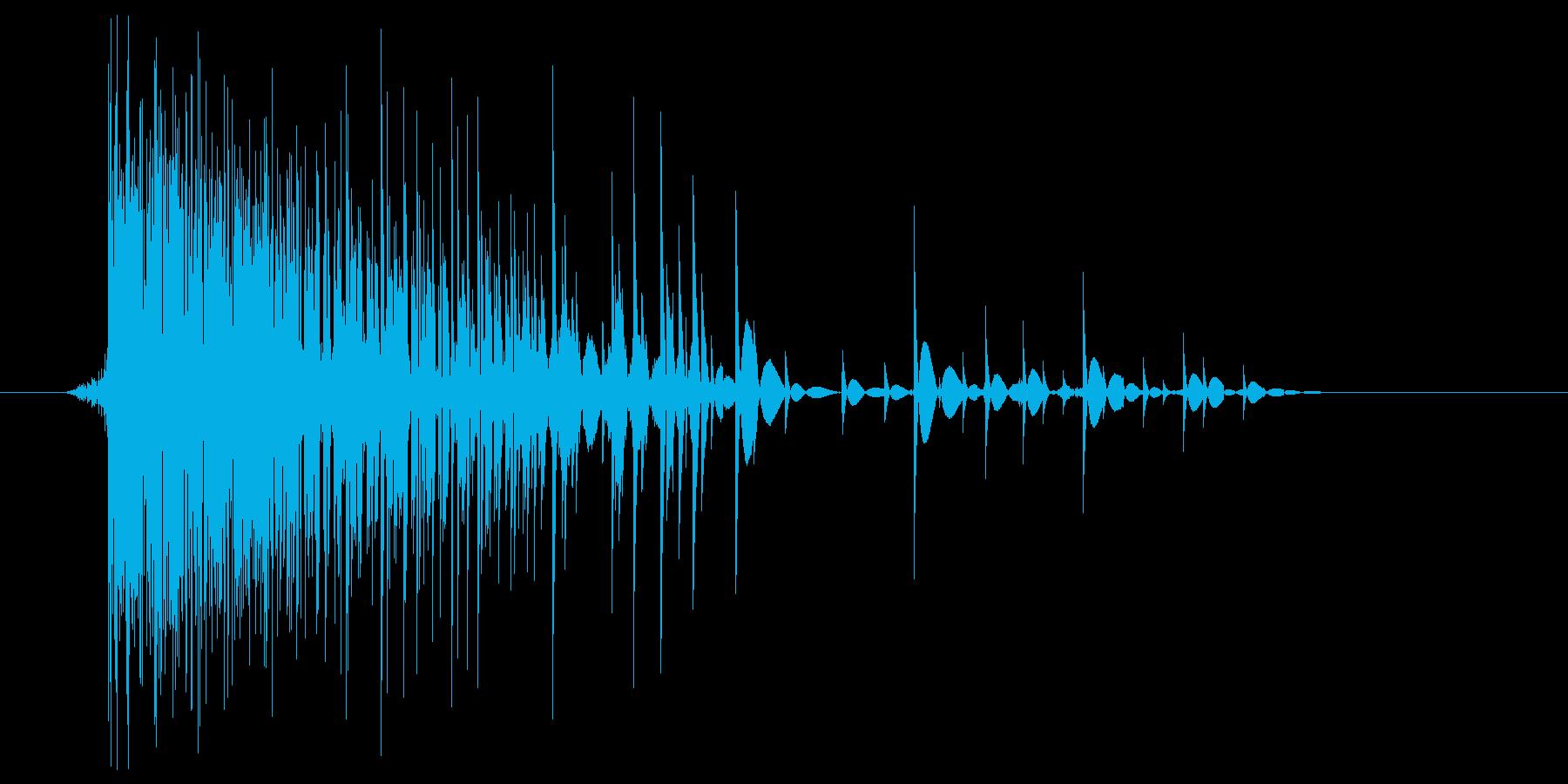 ゲーム(ファミコン風)爆発音_034の再生済みの波形