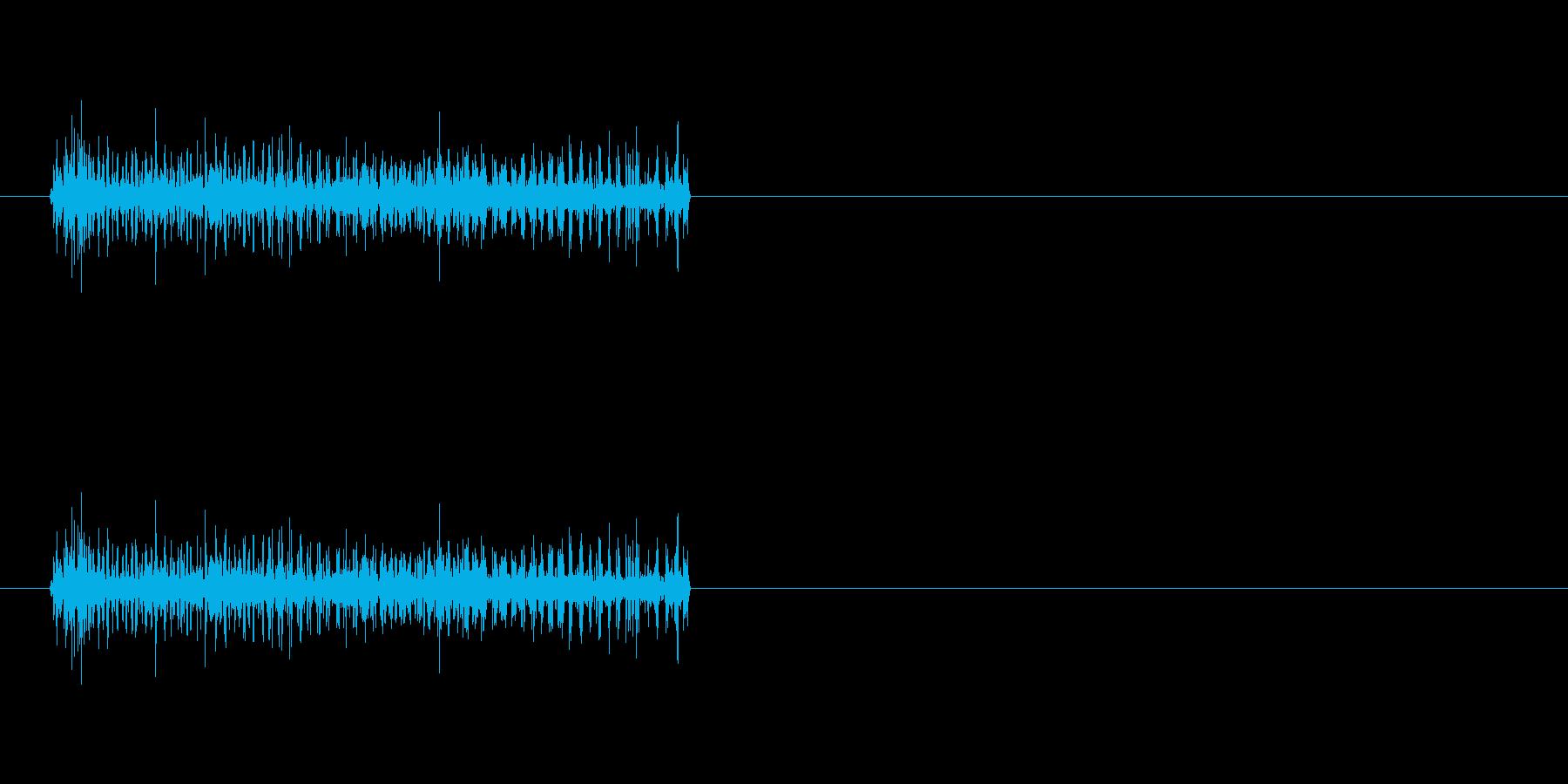 【電流01-3】の再生済みの波形