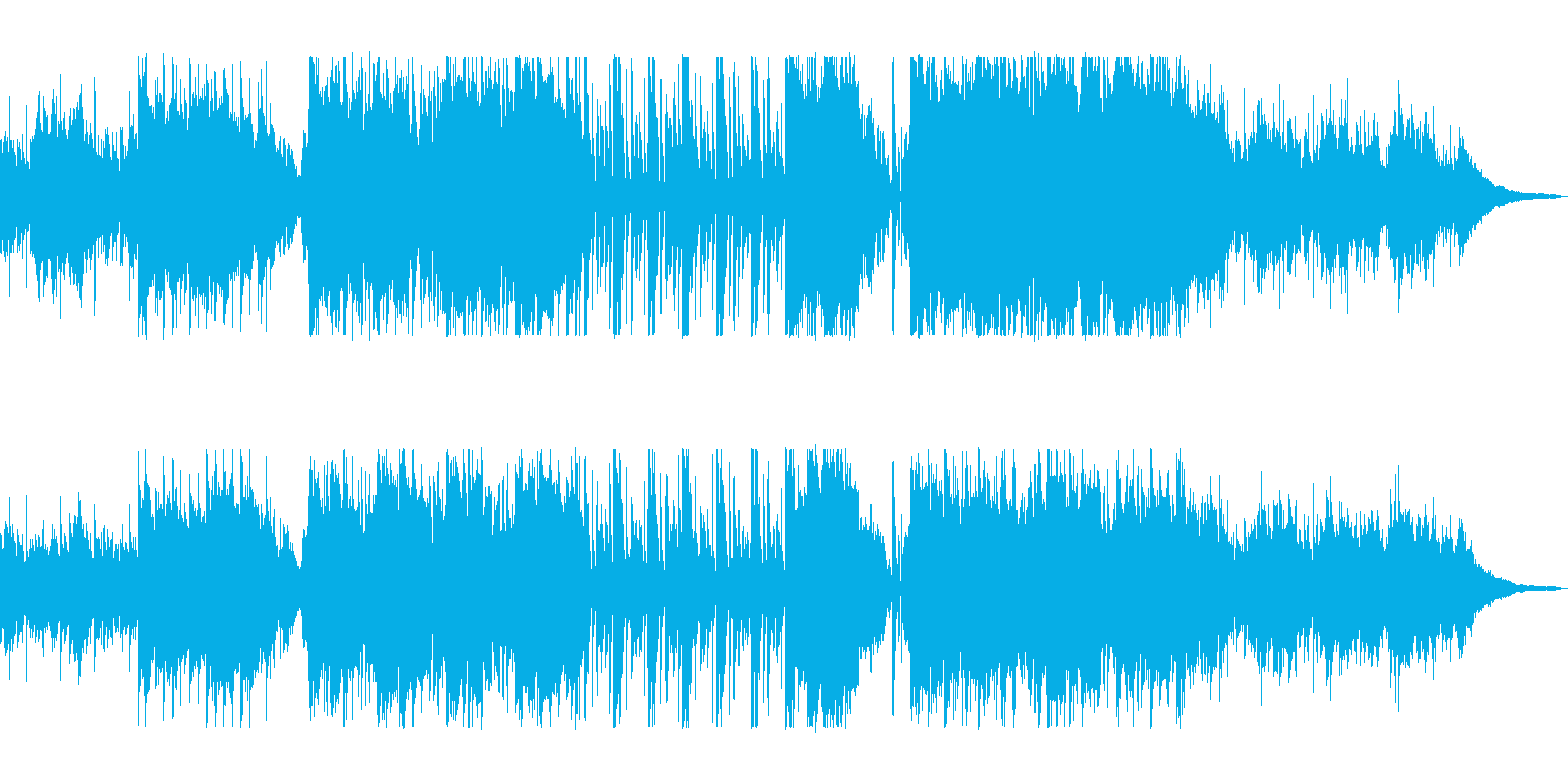 美術館に合う上品で明るいバイオリンの曲の再生済みの波形