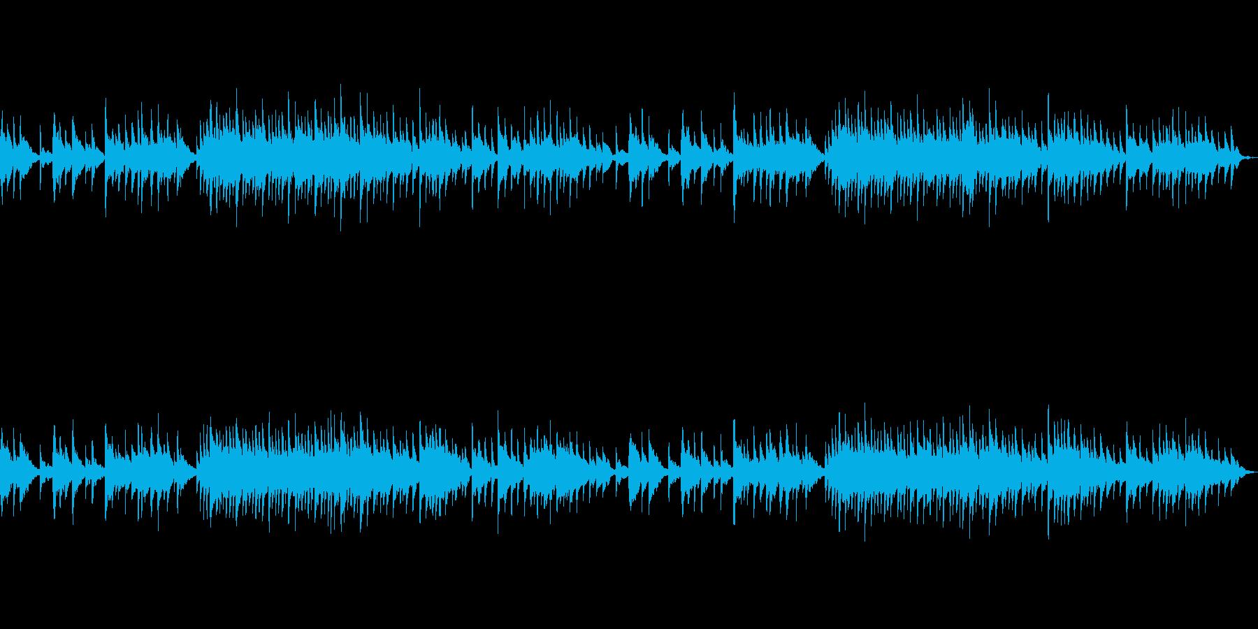 幻想的でシリアスなオルゴール風BGMの再生済みの波形