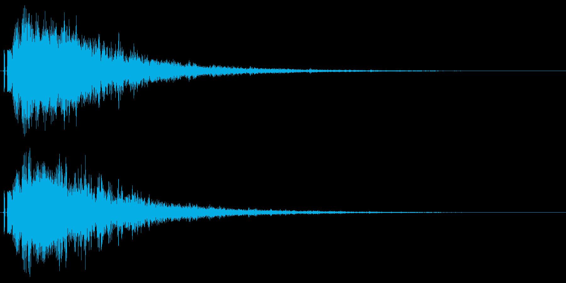 シャキーン!ド派手なインパクトに最適39の再生済みの波形