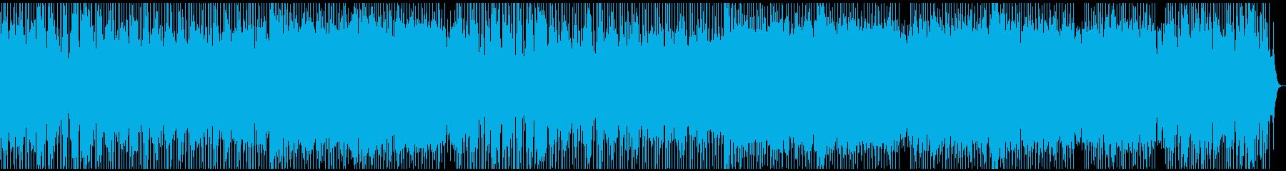 琴とコーラスが印象的な夢心地になれる曲の再生済みの波形