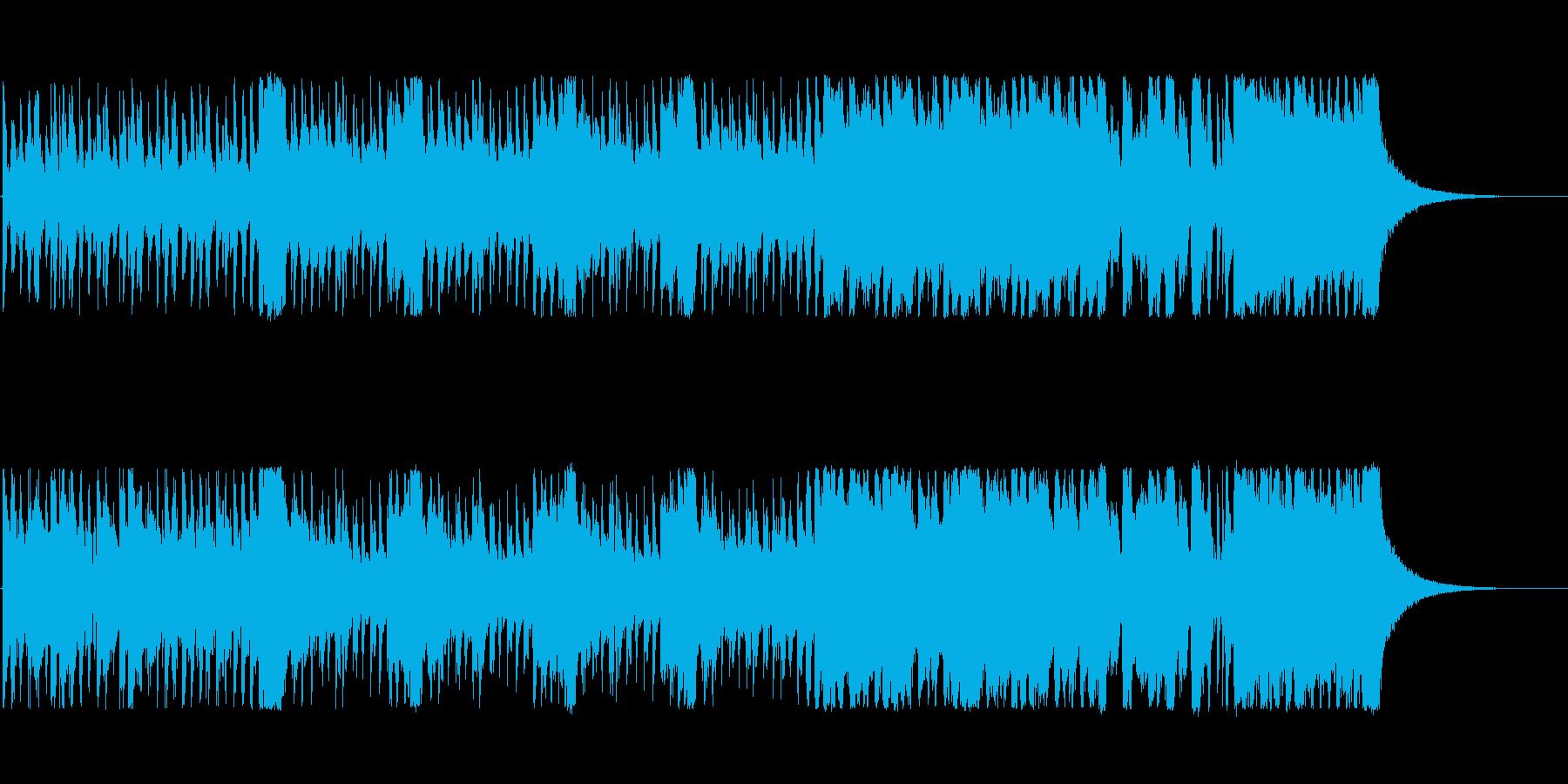 少し怪しげで、不安感・危機感をあおる曲の再生済みの波形
