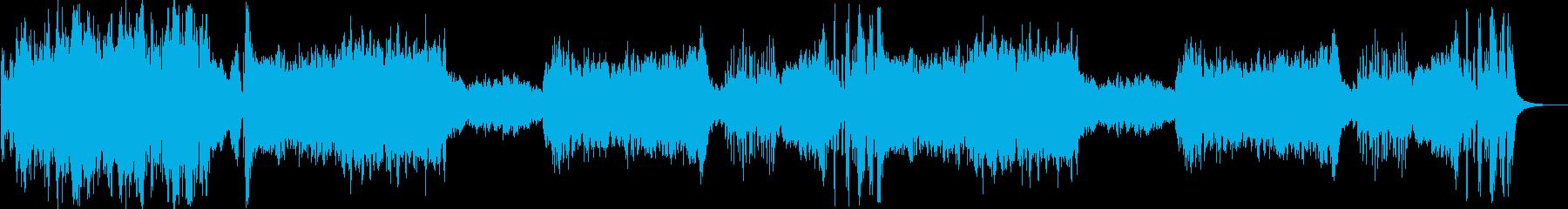 戦闘曲などに使えるオーケストラの再生済みの波形