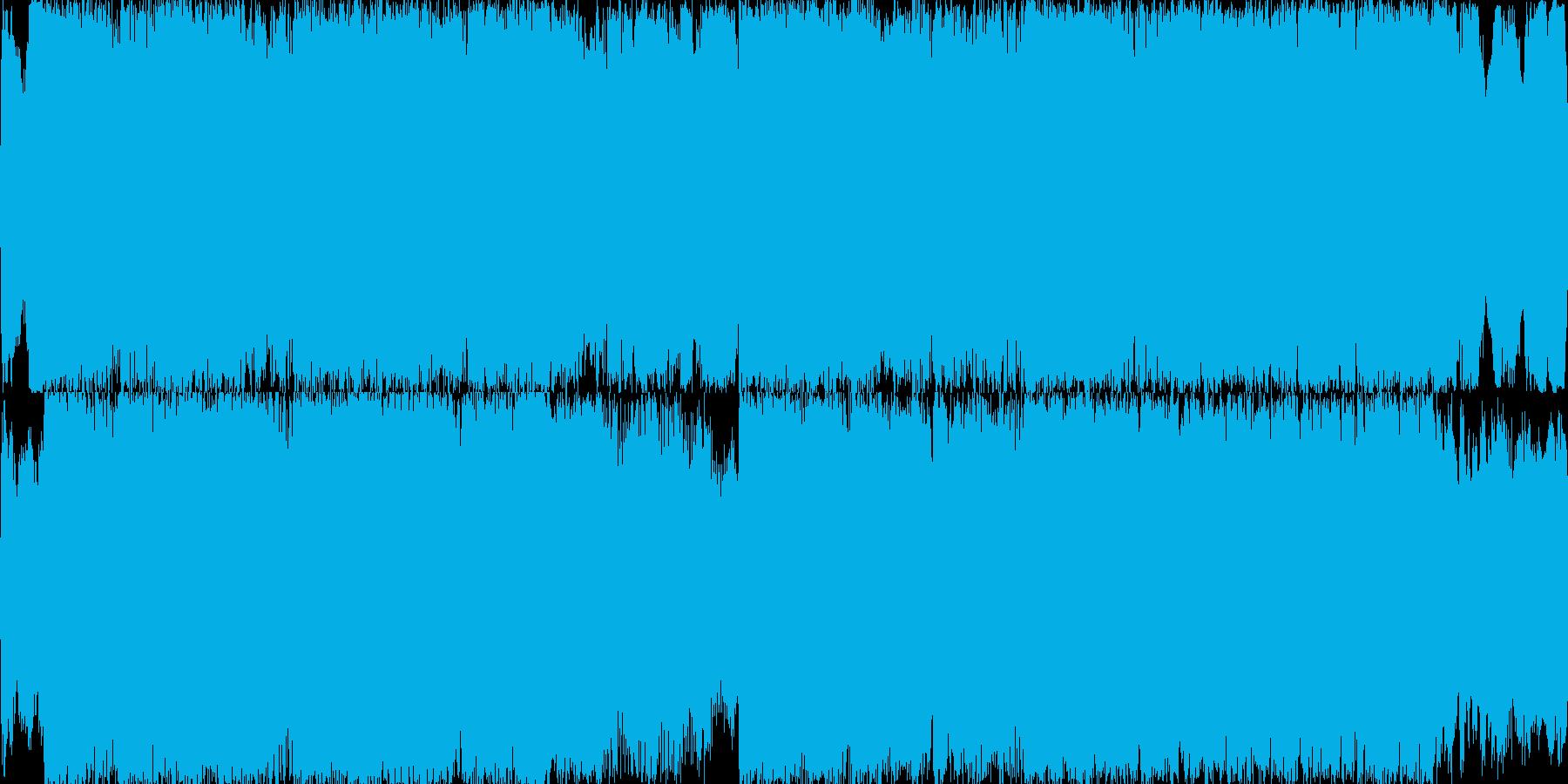 重々しく荘厳 オーケストラ ゲームループの再生済みの波形