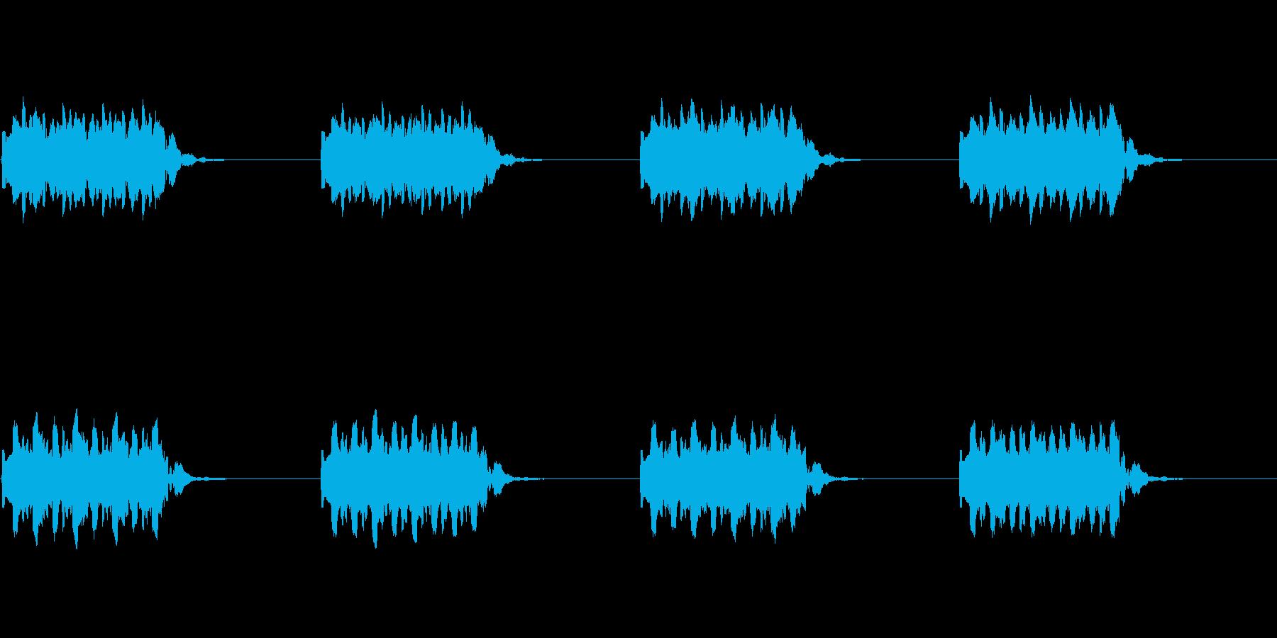 【電話 着信音01-2L】の再生済みの波形