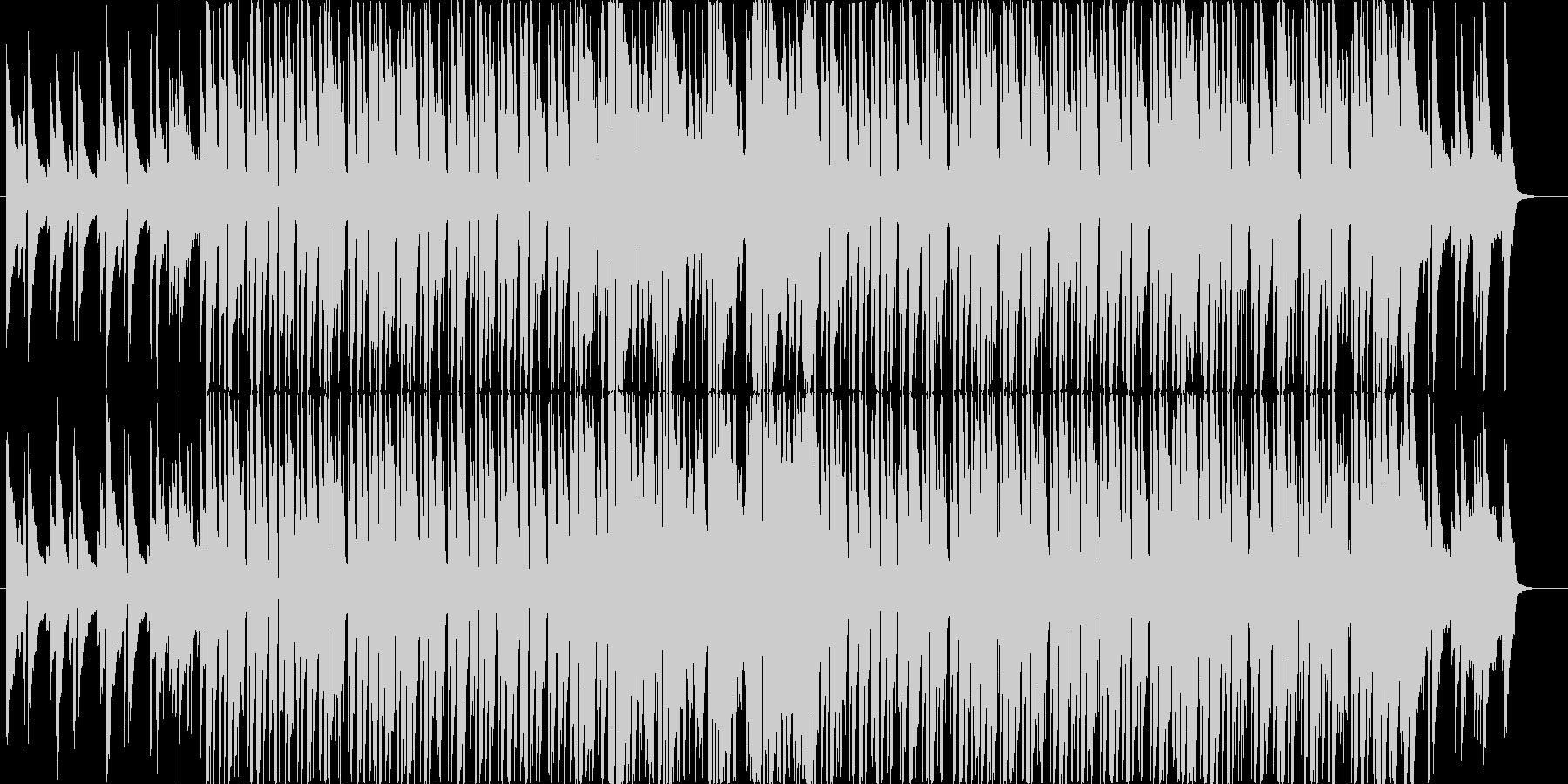 クラブ+ジャズピアノのお洒落な曲の未再生の波形
