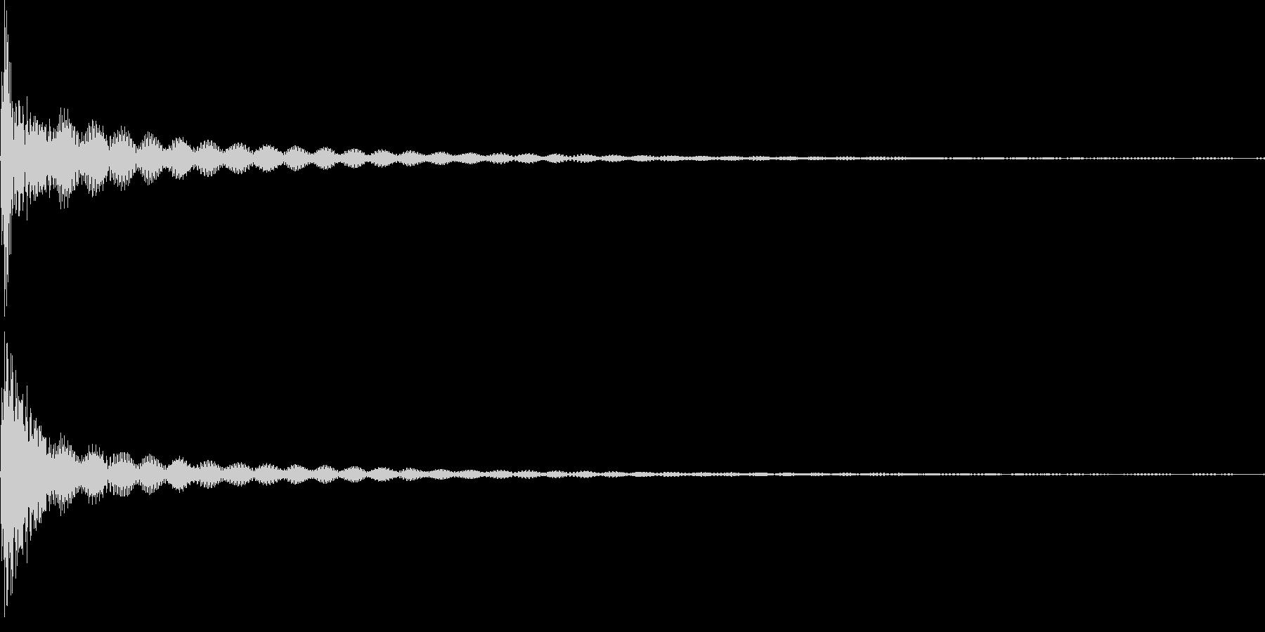 コン(カーソル、キャンセル、失敗)の未再生の波形