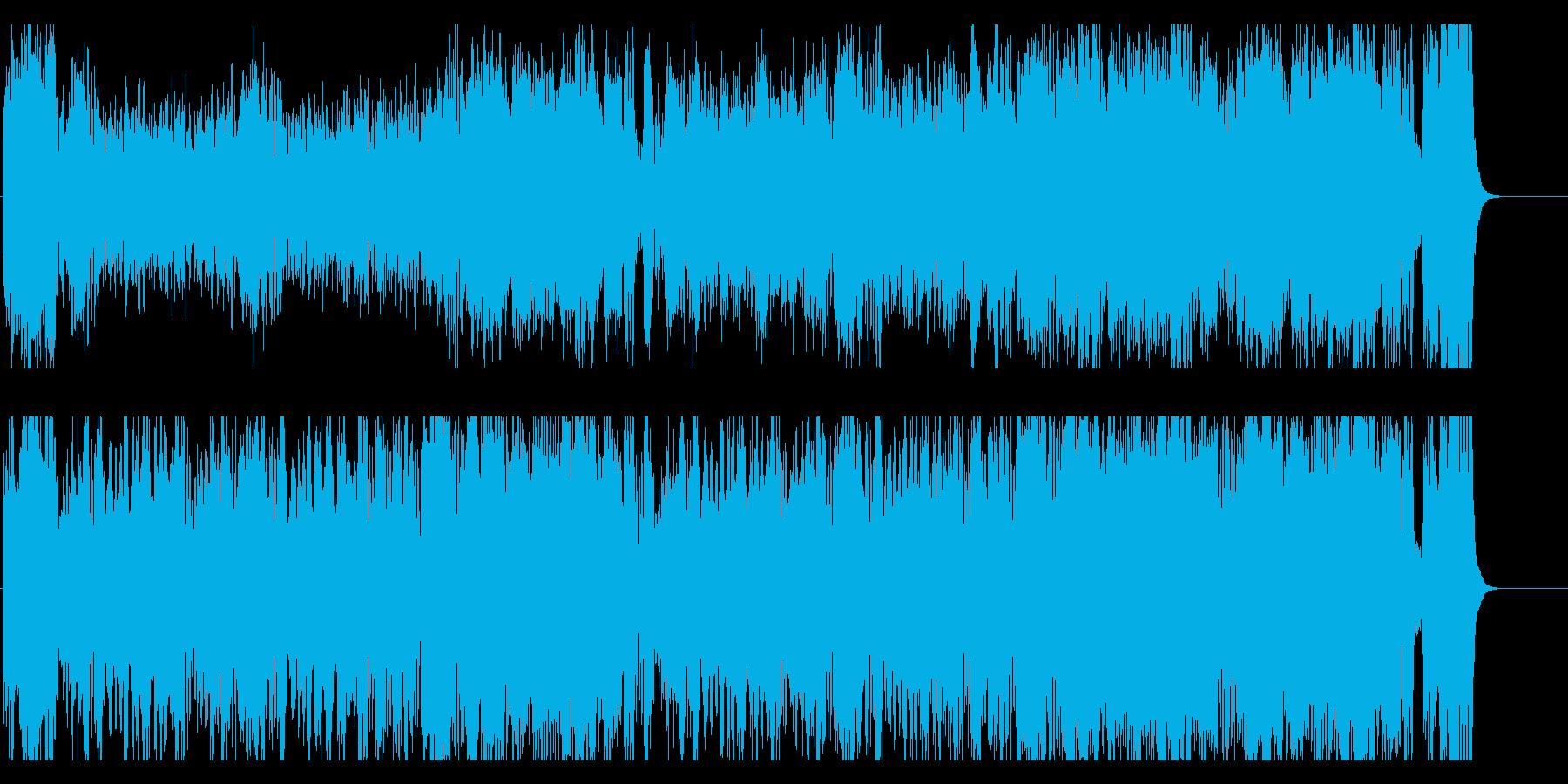 サーカス 遊園地 運動会 登場 軽快の再生済みの波形