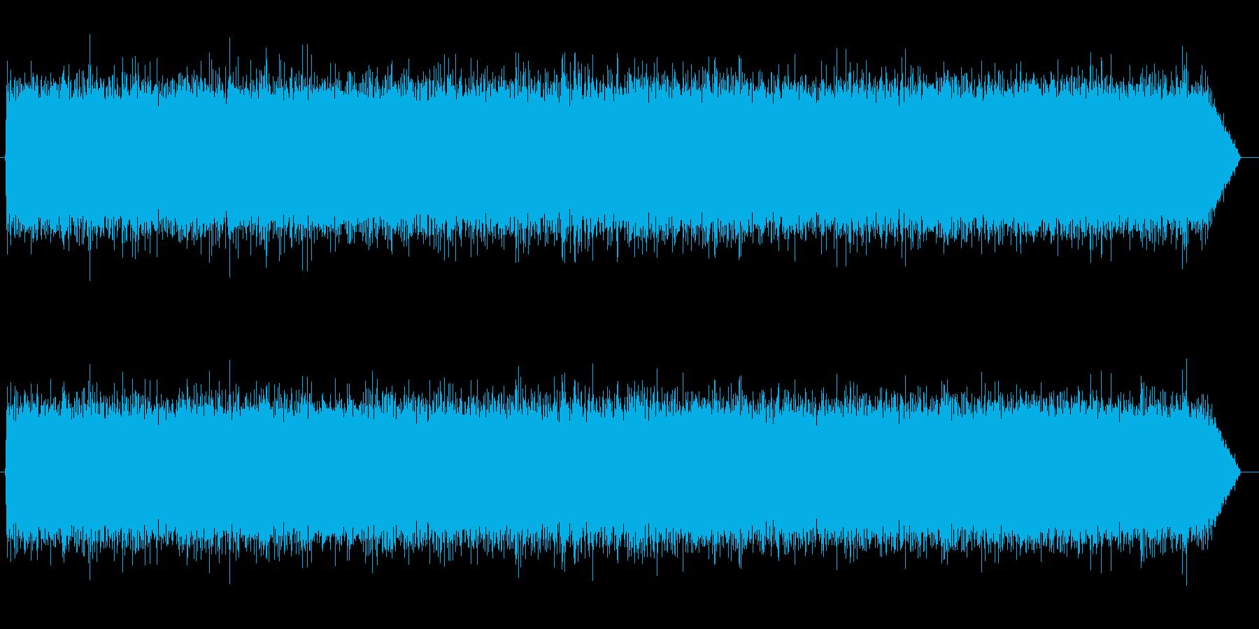 砂嵐効果音 低め テレビのノイズ ザーの再生済みの波形
