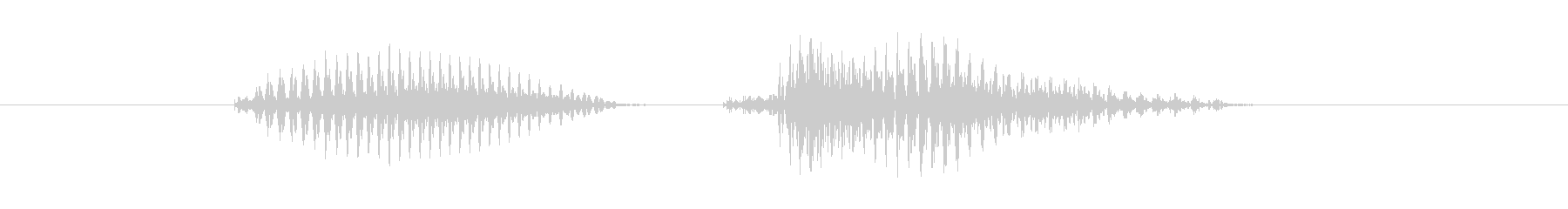 PK(ぴーけー)の未再生の波形