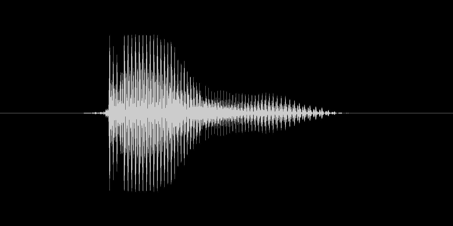 i,I,I(アイ)の未再生の波形