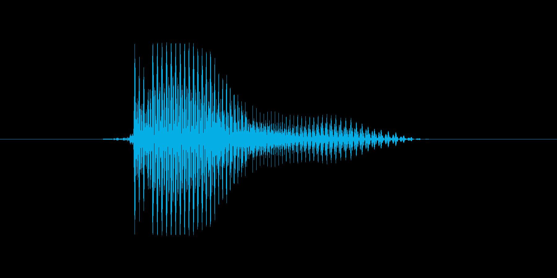 i,I,I(アイ)の再生済みの波形