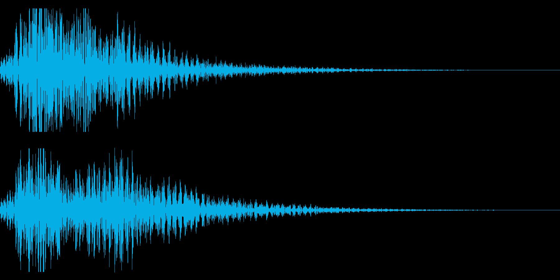 太鼓 和太鼓フレーズ ジングル ロゴ10の再生済みの波形