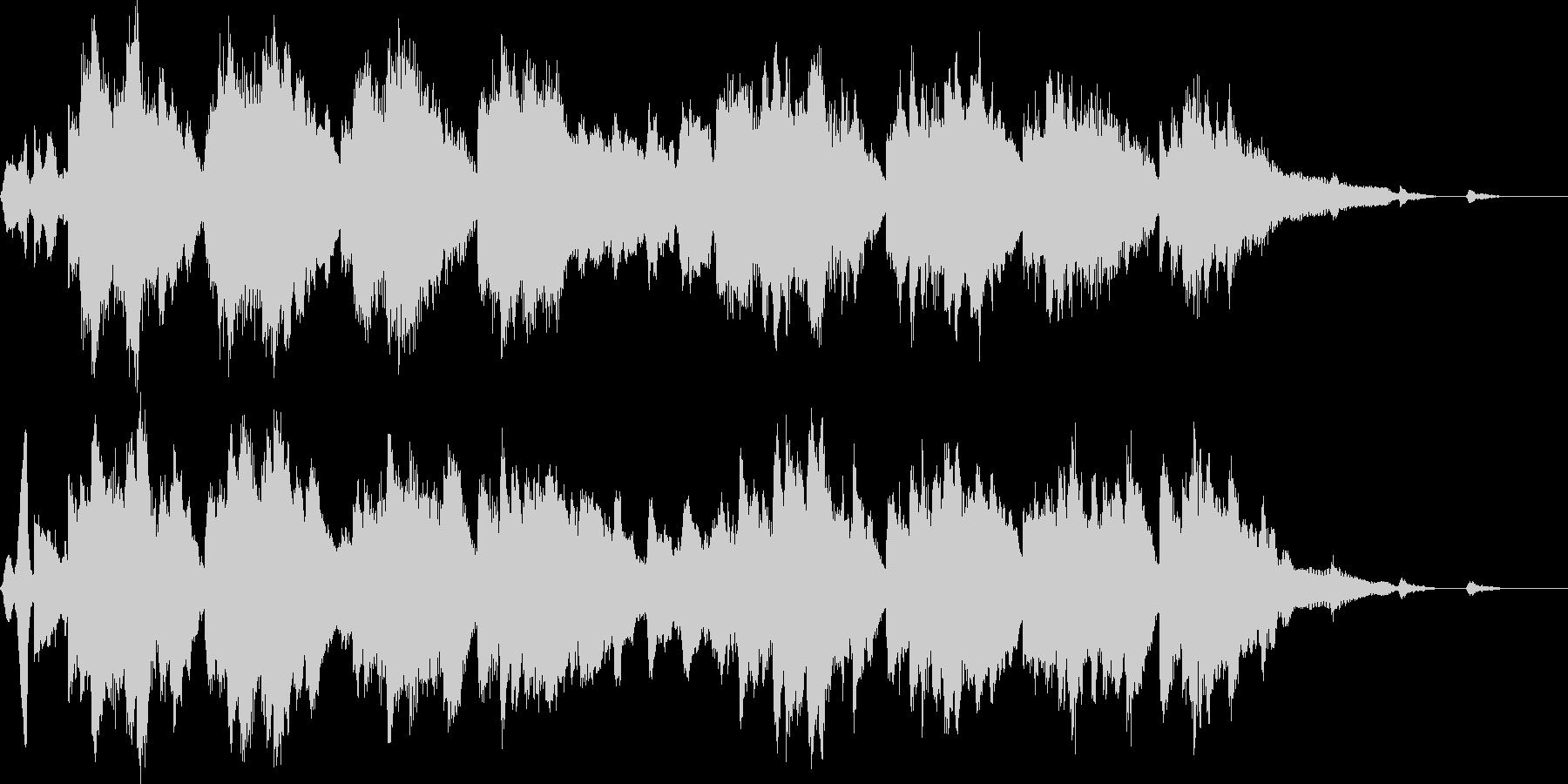 映像作品向け音楽の未再生の波形
