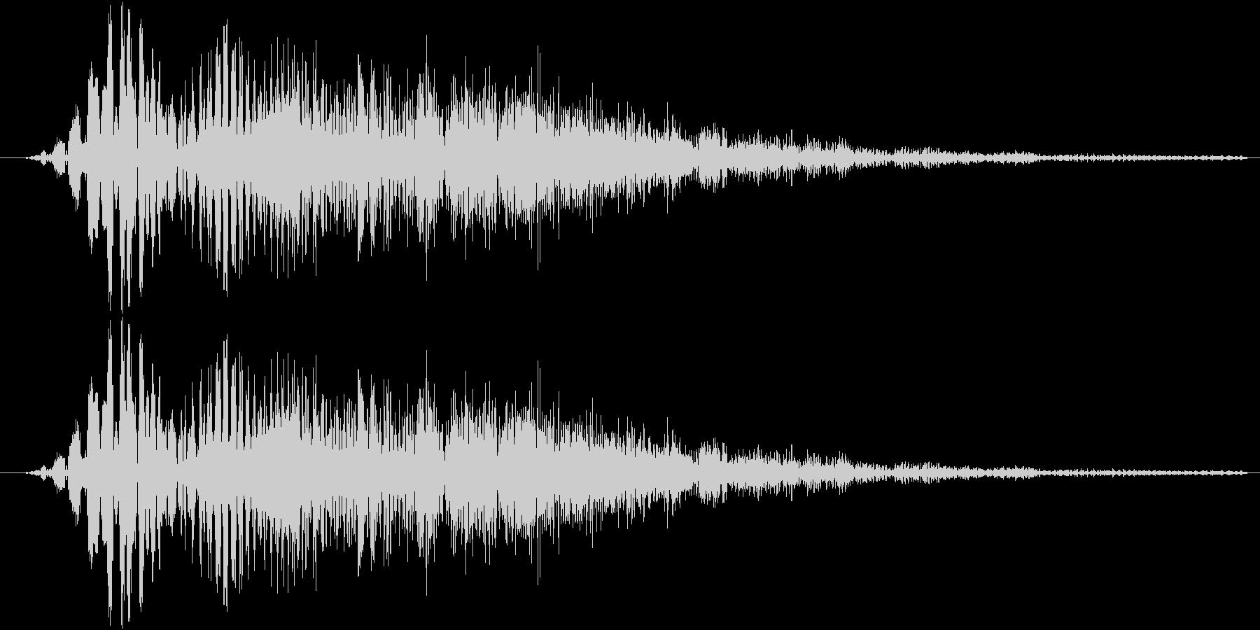 サウンドロゴ19の未再生の波形