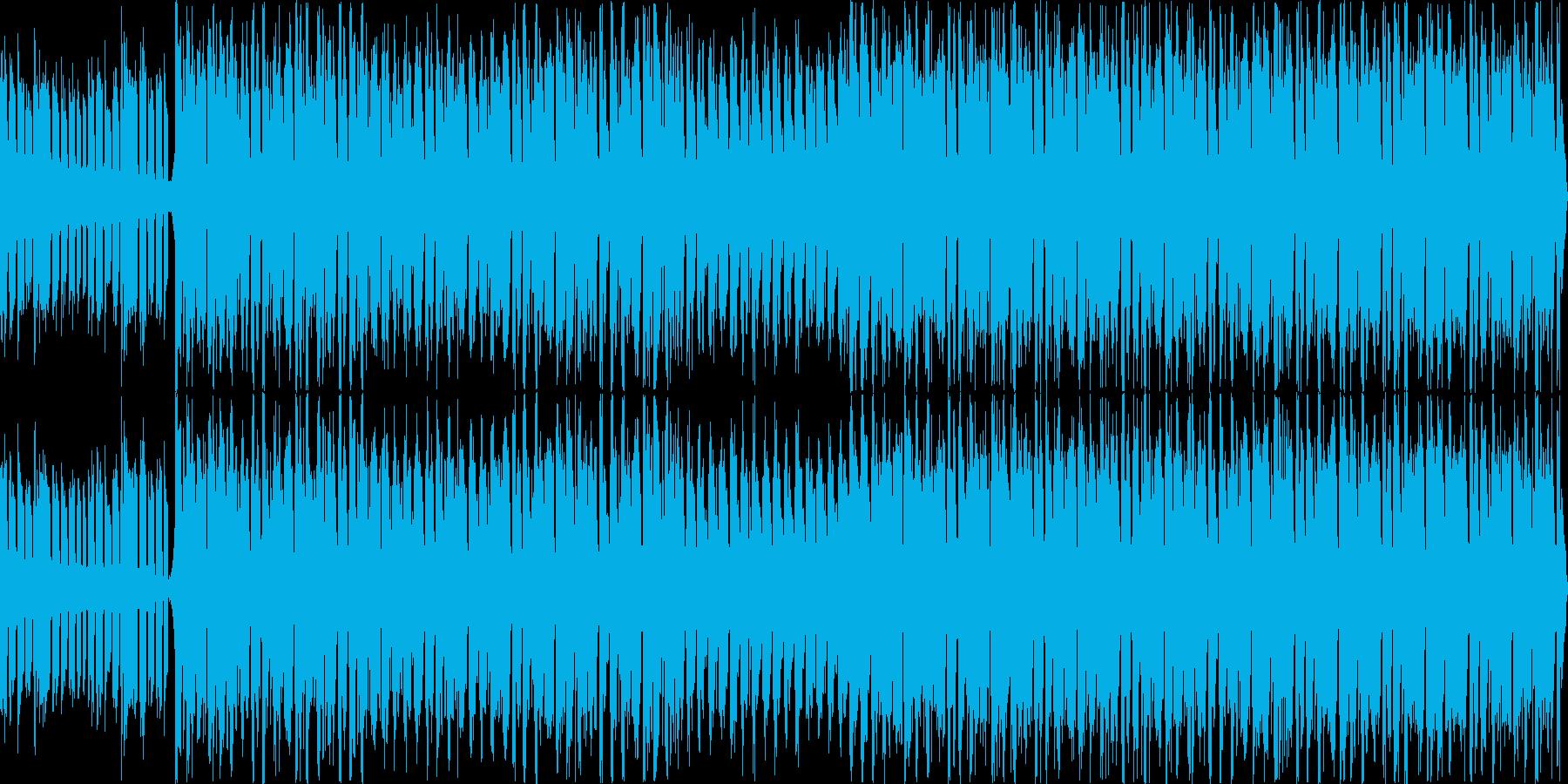 不良に絡まれてそうなシーンや緊張感ある…の再生済みの波形