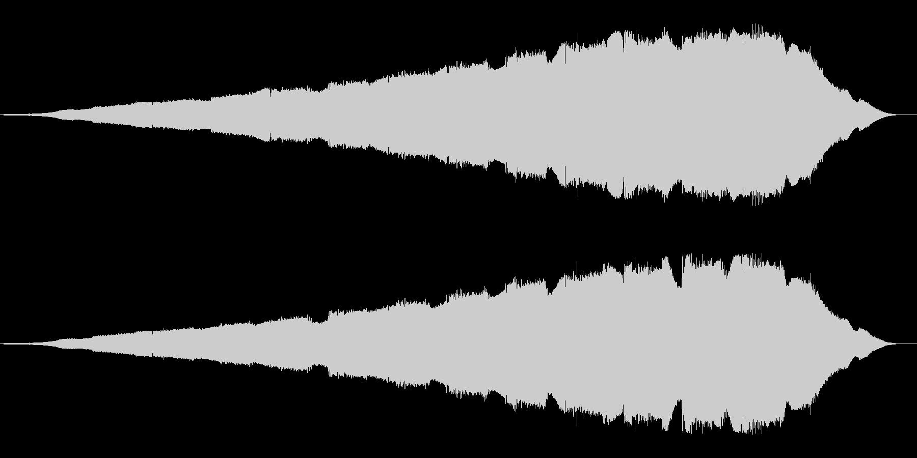 無線信号や電波の様なループした効果音の未再生の波形