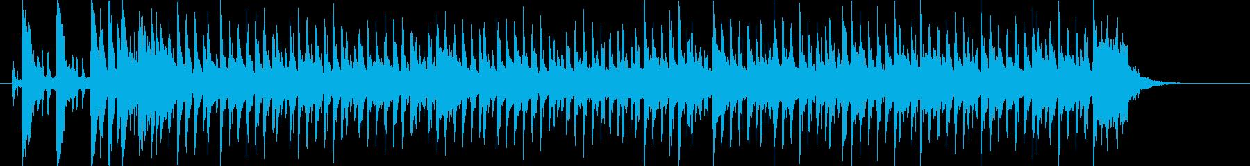 コミカルで軽快なデジタルポップの再生済みの波形