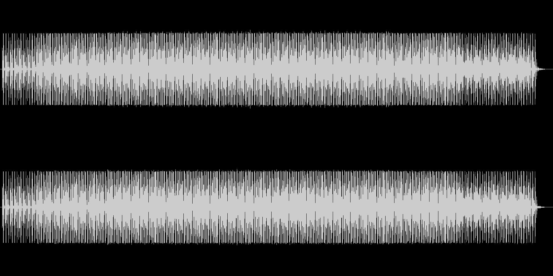 雰囲気重視のシンプルなループの未再生の波形