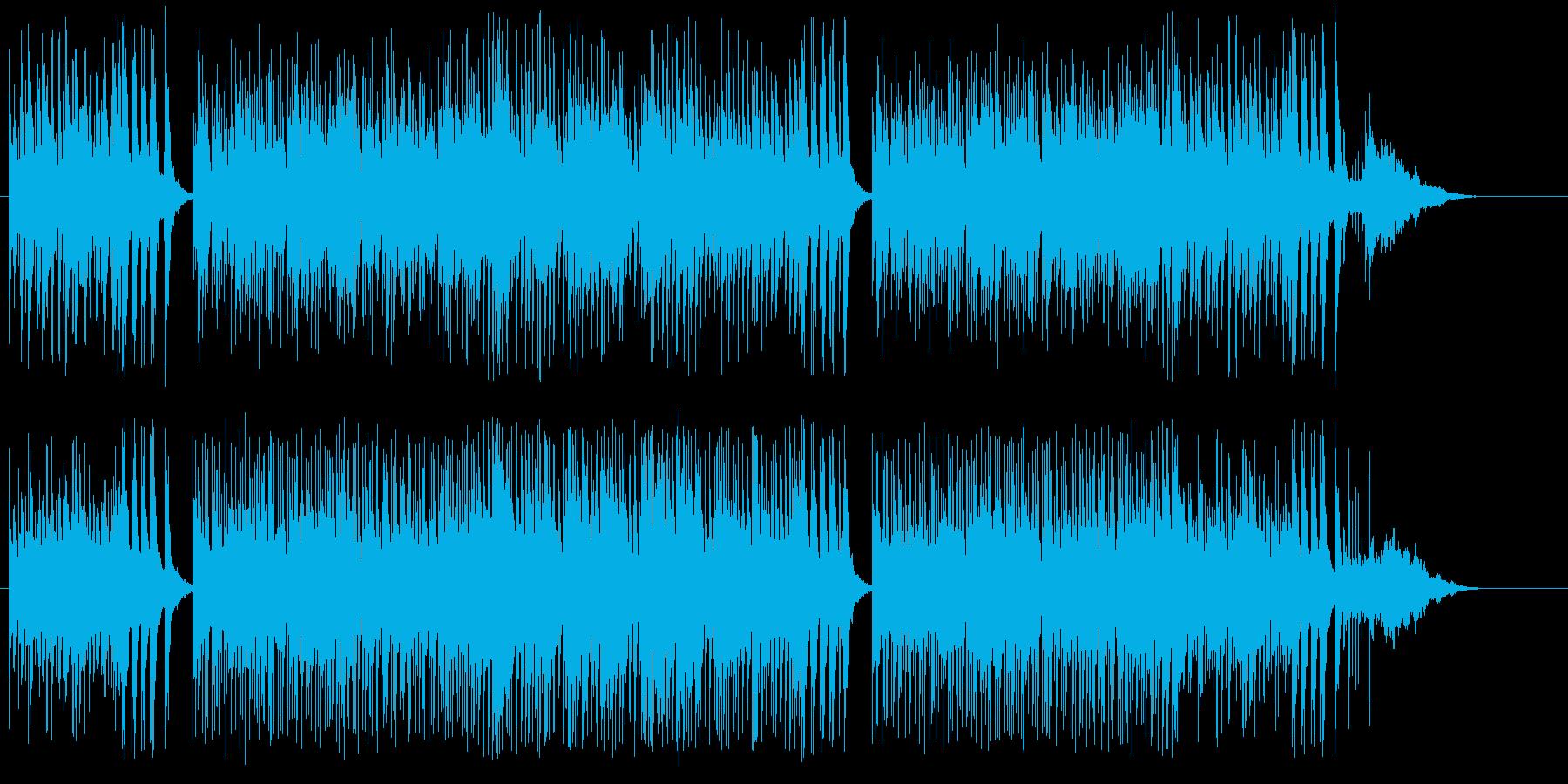 情報バラエティ番組フラッシュ向けの再生済みの波形