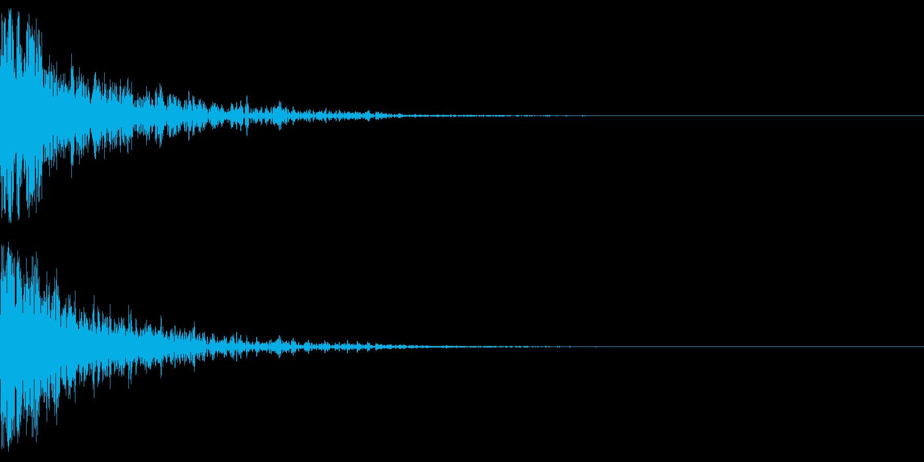 衝撃映像 映画予告 バーン シンプルの再生済みの波形