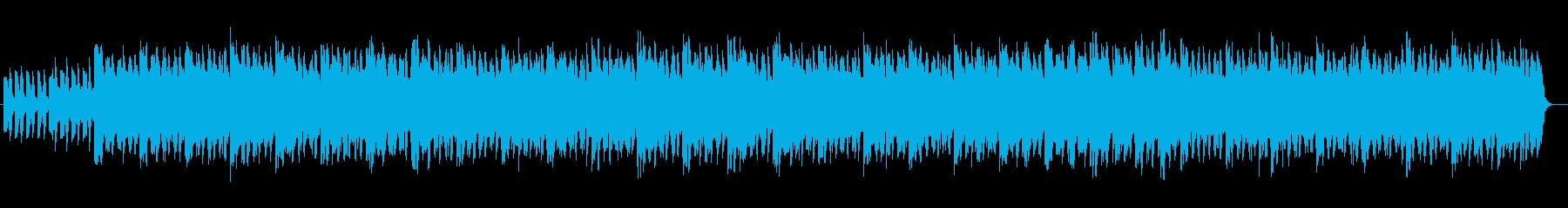 重厚感がある幻想的な曲の再生済みの波形