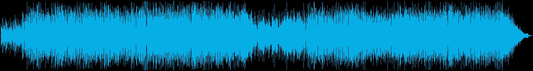 ラウンジ系ポップスの再生済みの波形
