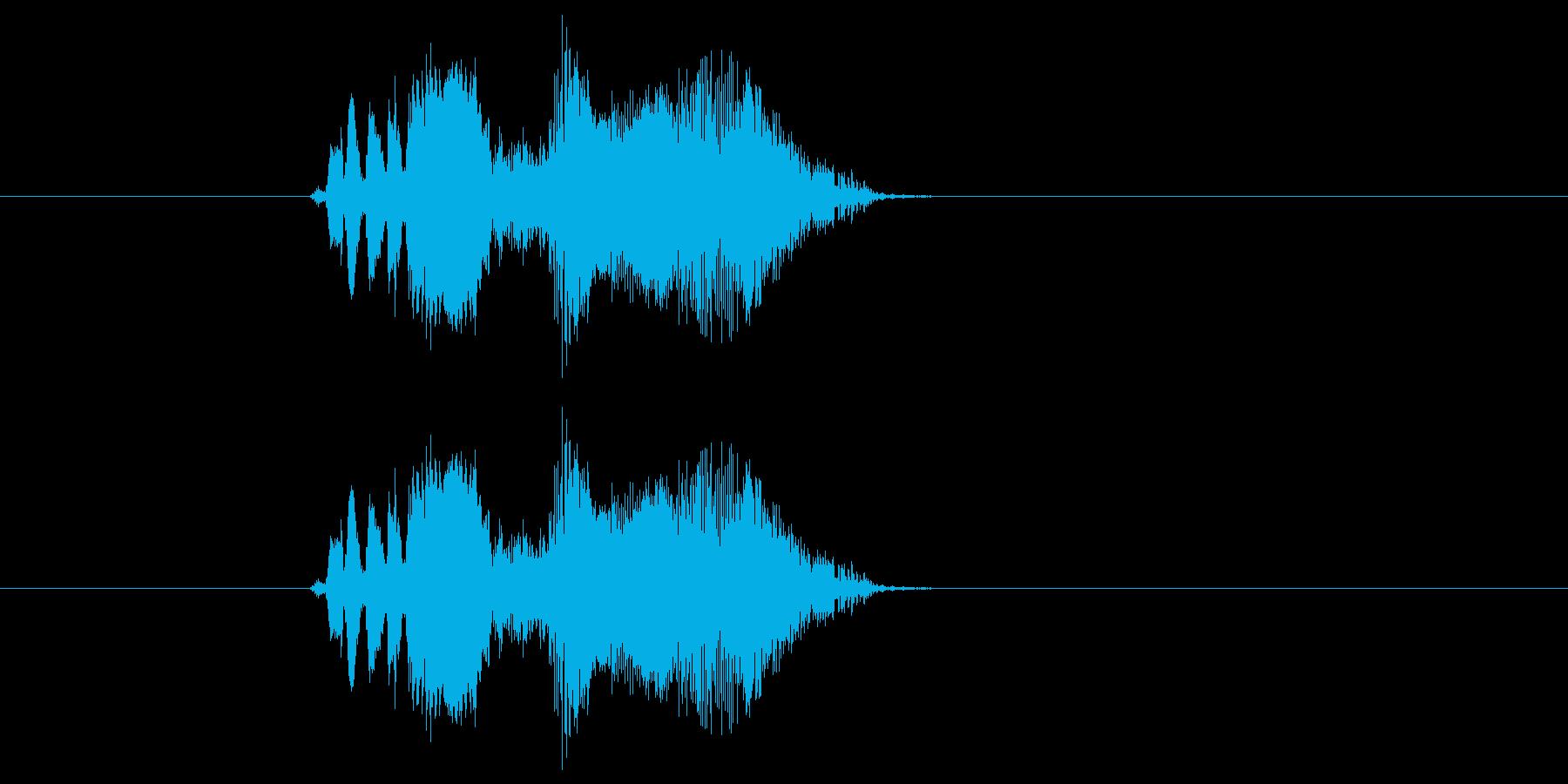 リーハーの再生済みの波形
