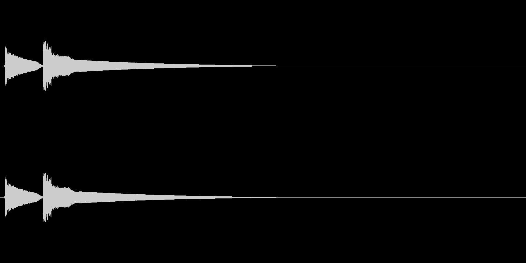 【ひらめき02-1】の未再生の波形