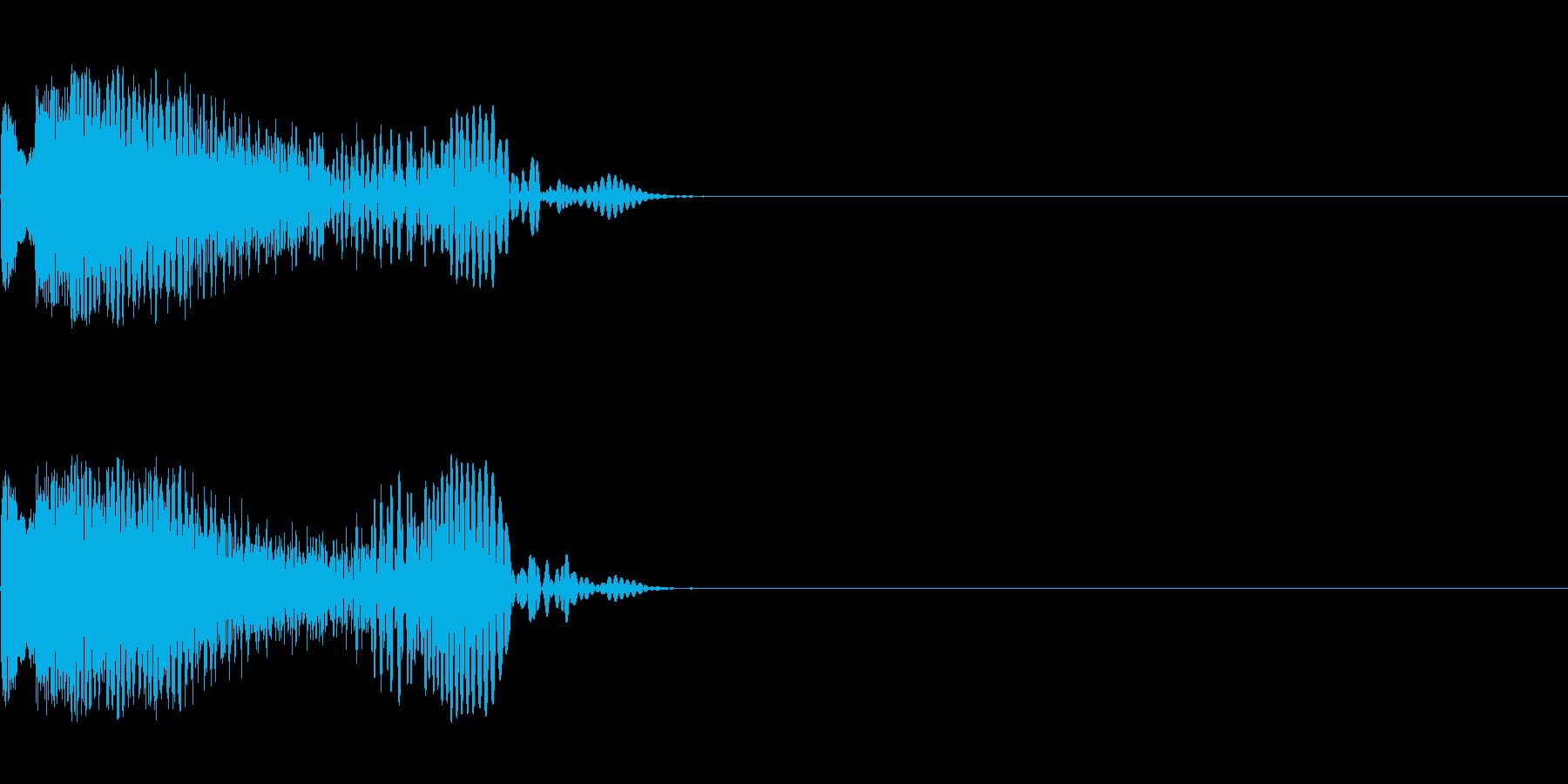 ショット_その7の再生済みの波形