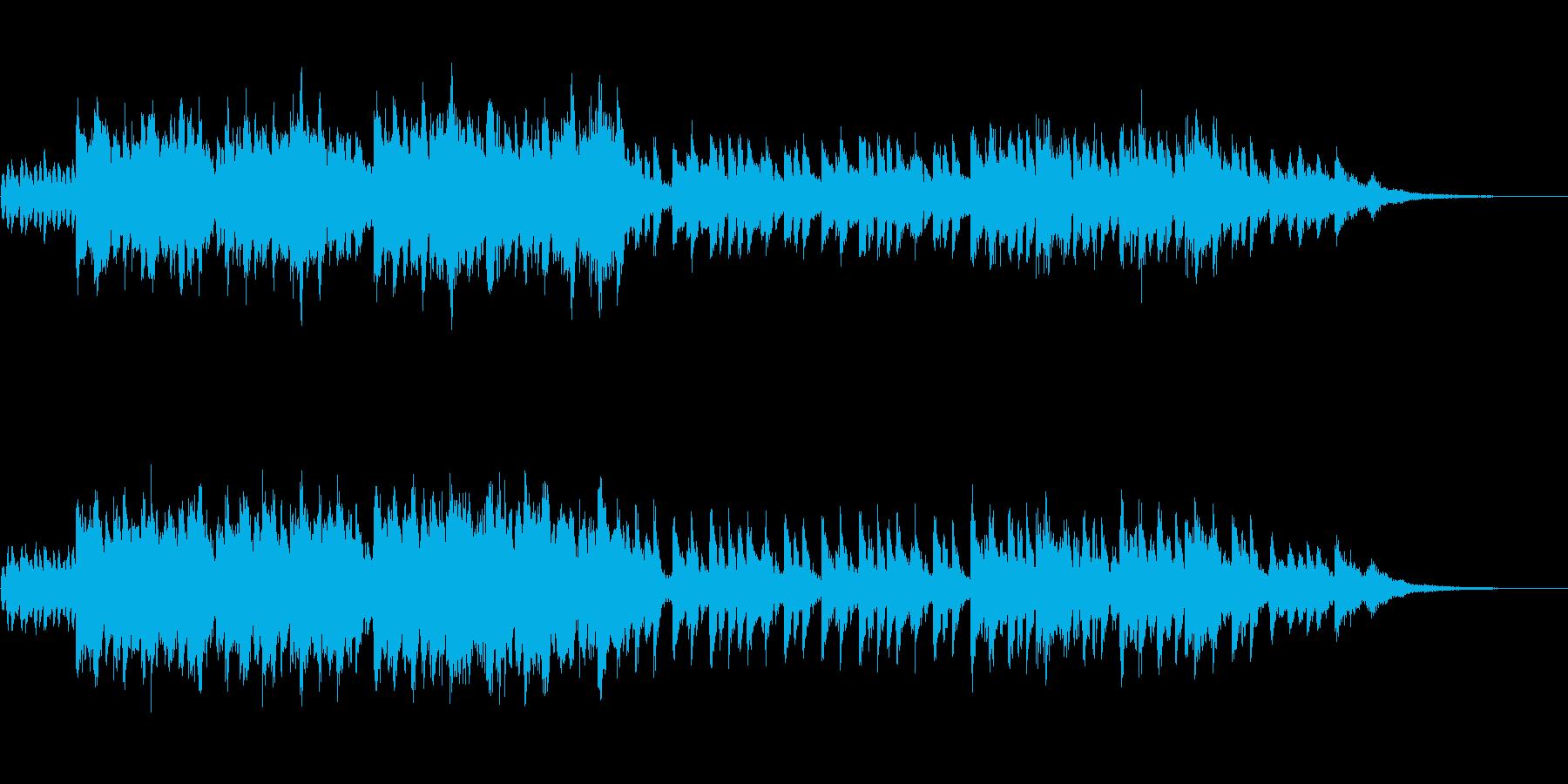 ファンタジックなアップテンポの再生済みの波形