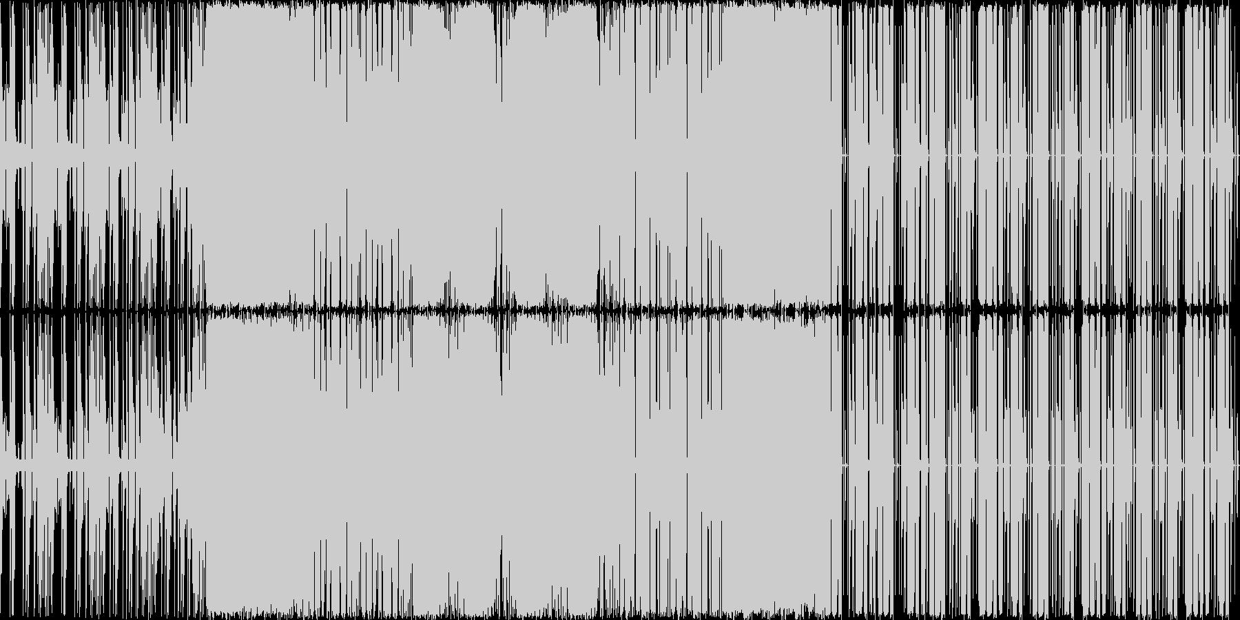 軽快な曲です。途中からダンス曲っぽくな…の未再生の波形