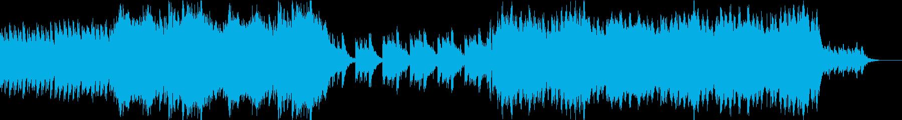 神秘的な秘境の再生済みの波形