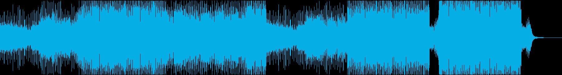 ダーク・ディストピア・メタルのイメージ曲の再生済みの波形
