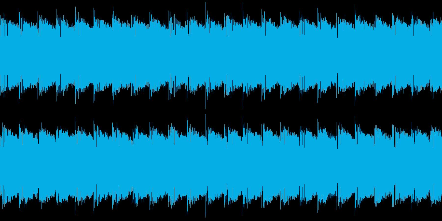 シンセ サイレン アナログ ピコピコ06の再生済みの波形
